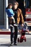 Olivier Martinez has a father-son afternoon out with Maceo