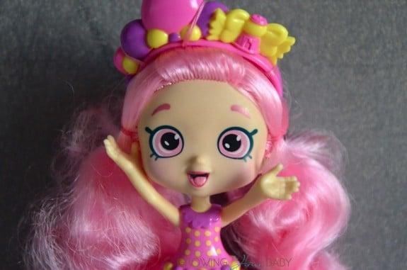 Shopkins Bubbleisha doll - close up