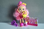 Shopkins Bubbleisha doll with accessories