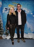 Tori Spelling and Dean McDermott  at the premiere of Disney On Ice's 'Frozen' at Staples Center LA