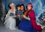 Vanessa Lachey and son Camden Lachey at the premiere of Disney On Ice's 'Frozen' at Staples Center LA