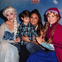 Celebrity Families Attend The Premiere Of Disney On Ice's 'Frozen'