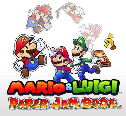 3Ds Mario and Luigi Paper Jam