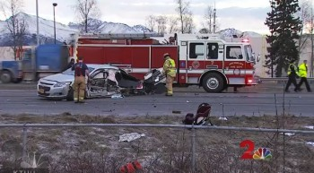 Baby in Car Seat Ejected During Accident