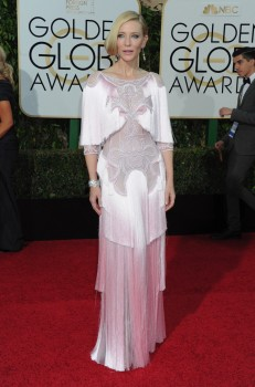 Cate Blanchett at the 73rd Annual Golden Globes Awards