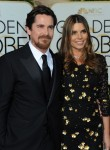 Christian Bale and Wife Sibi Blazic at the 73rd Annual Golden Globes Awards