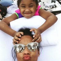 Christina Milian Enjoys A Beach Day With Her Daughter Violet In Miami