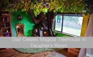 Dad-Creates-Magical-Treehouse-in-Daughters-Room--300