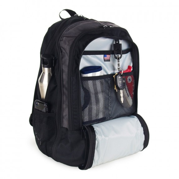 DadGear Backpack Diaper Bag Basic interior
