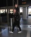 David Furnish Departs LAX With Son Elijah