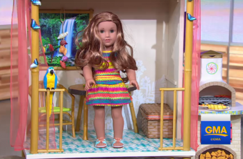 Girl of the Year doll for 2016 - Lea Clark