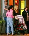 Gwen Stefani Leaves the movies with Blake Shelton
