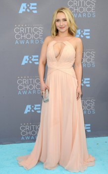 Hayden Panettiere attends The 21st Annual Critics' Choice Awards in Los Angeles