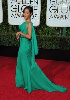 Jada Pinkett Smith at the 73rd Annual Golden Globes Awards