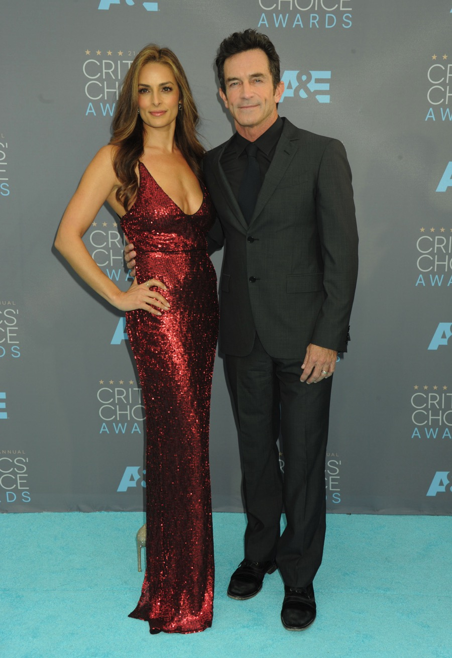 Jeff Probst And Wife Lisa At The 21st Annual Critics