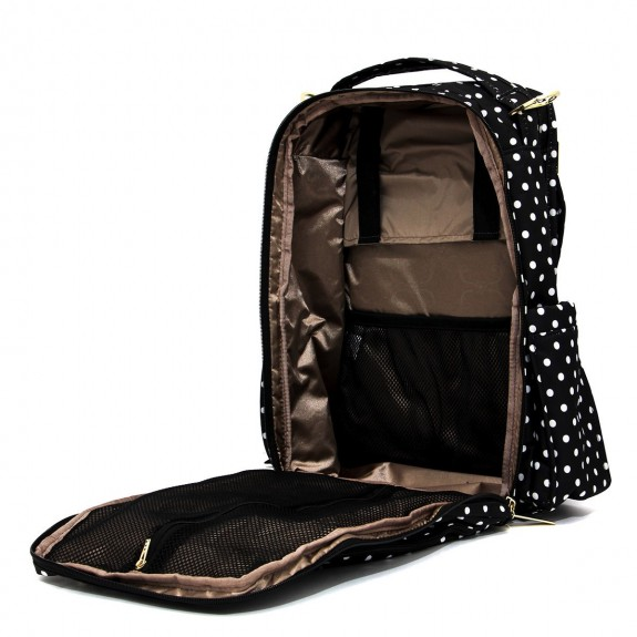 Ju-Ju-Be Be Right Back Backpack Diaper Bag interior