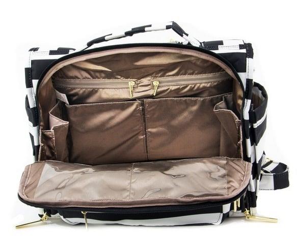 Jujube Bff Diaper Bag Interior