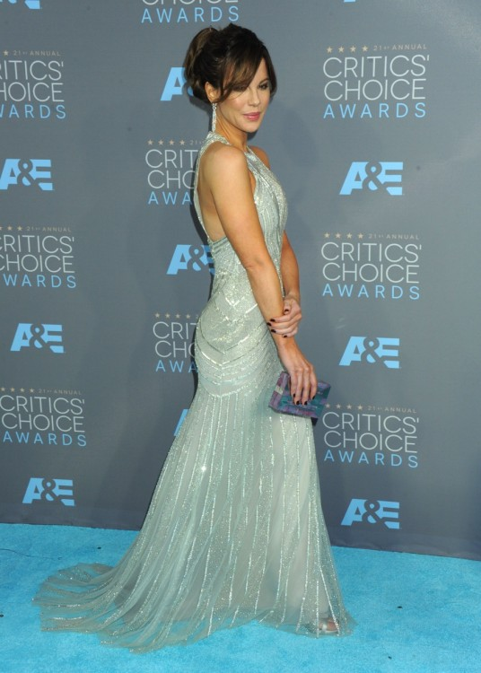 Kate Beckinsale at The 21st Annual Critics' Choice Awards in Los Angeles