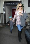 Kate Hudson arrives at LAX with son BING