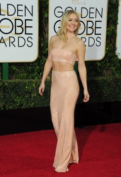 Kate Hudson at the 73rd Annual Golden Globes Awards
