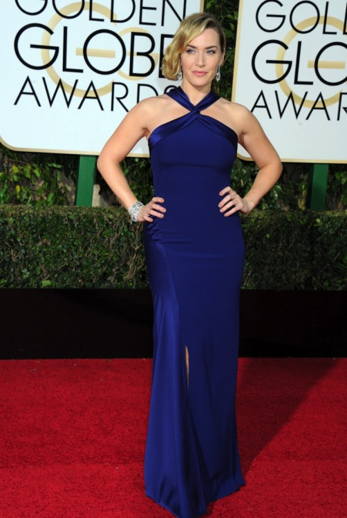 Kate Winslet at the 73rd Annual Golden Globes Awards