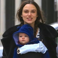Keira Knightley Enjoys a New Years Eve Stroll With Her Family