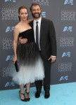 Leslie Mann, Judd Apatow attends The 21st Annual Critics' Choice Awards in Los Angeles