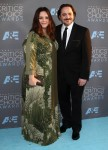Melissa McCarthy and husband Ben Falcone attend The 21st Annual Critics' Choice Awards in Los Angeles