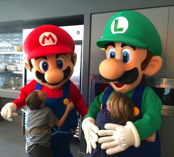 Nintendo Mario and Luigi- Paper Jam Launch