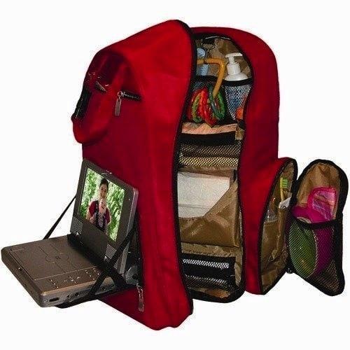 Okkatots Baby Travel Depot Diaper Bag Backpack Interior
