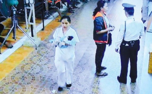 Police look For Newborn Who Was Stolen From Cebu City Hospital