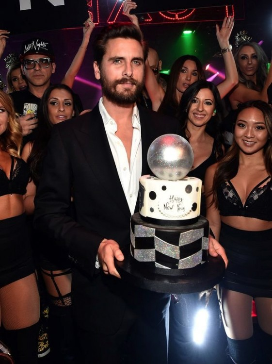 Scott-Disick new years eve 2015 1OAK