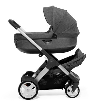Stokke Crusi bassinet and second seat