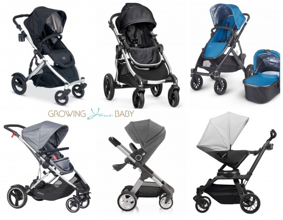Stroller Comparison - 6 Double Inline Strollers