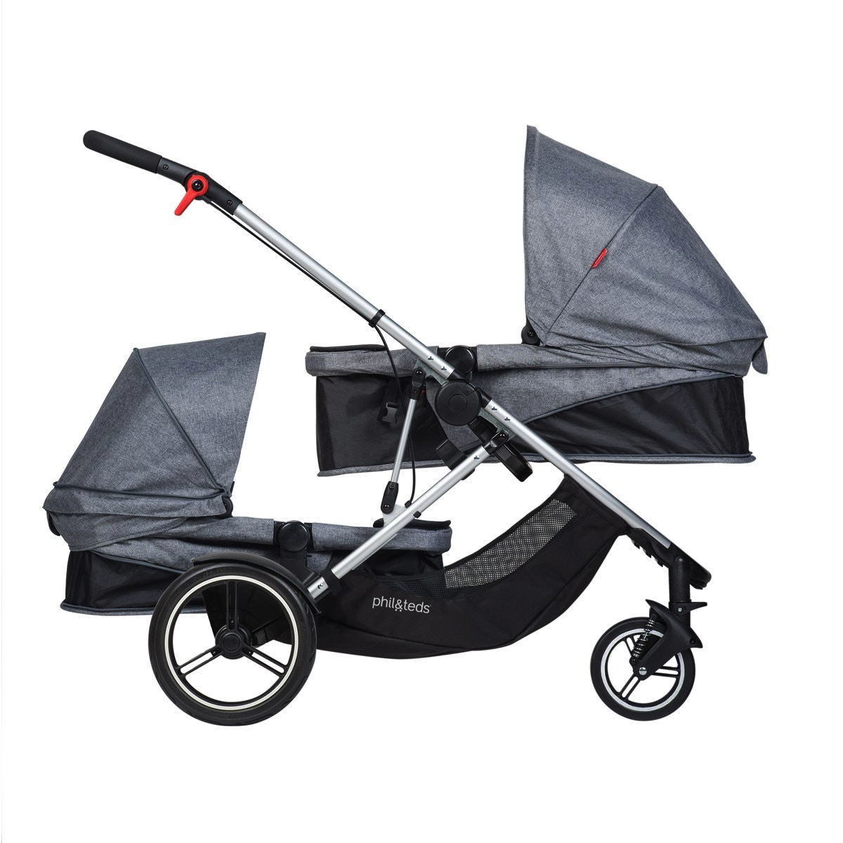 phil and teds voyager stroller bassinet and stroller seat ...