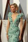 Cate Blanchett walks the red carpet at the 88th Annual Academy Awards