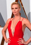 Charlize Theron at the 88th Annual Academy Awards