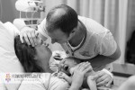 Child birth seconds after baby's birth 7