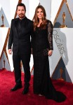 Christian Bale and Wife Sibi  at the 88th Annual Academy Awards