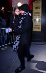 David and Harper Beckham Victoria Beckham leaving Balthazar after lunch in New York City, New York