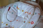 Fisher-Price's Soothing Motions Seat - seat fabric