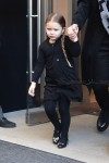 Harper Beckham leaving her manhattan hotel