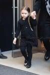 Harper Beckham leaving her manhattan hotel