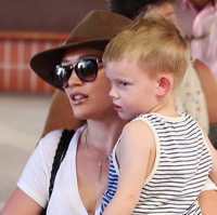 Hilary Duff & Mike Comrie Vacation in Hawaii With Their Son Luca