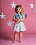 Jaime King For Sapling Child - Galaxy pink skirt