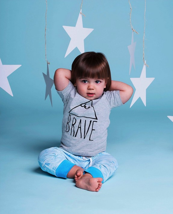 Jaime King For Sapling Child - Japanese wave pants