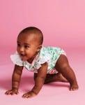 Jaime King For Sapling Child - lotus bodysuit