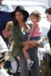 Jenna Dewan Tatum visits the market with her daughter Everly