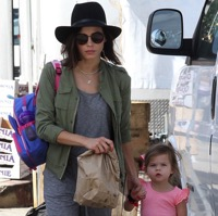 Jenna Dewan-Tatum visits The Market With Everly