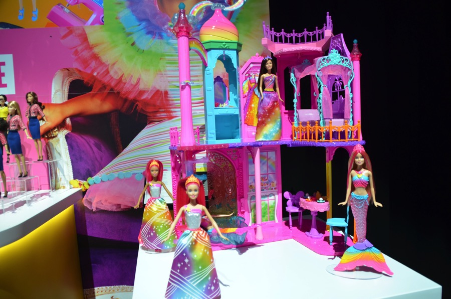 barbie house rainbow castle dreamtopia mansion